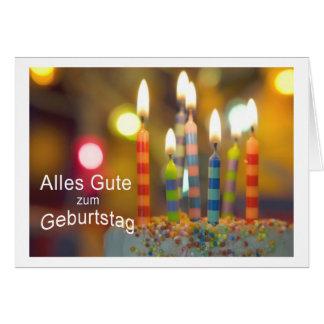 todo propiedad al cumpleaños tarjeta de felicitación