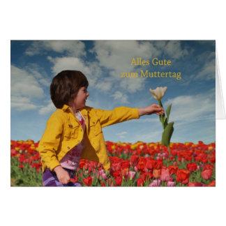 todo propiedad al día de madre tarjeta de felicitación