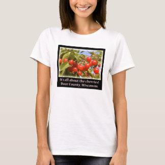 Todo sobre cerezas camiseta