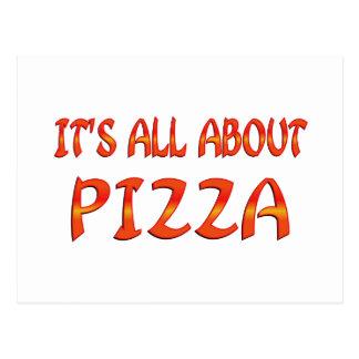 Todo sobre la pizza postal