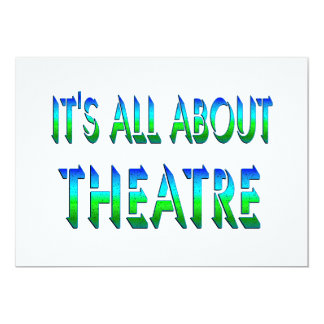Todo sobre teatro comunicado