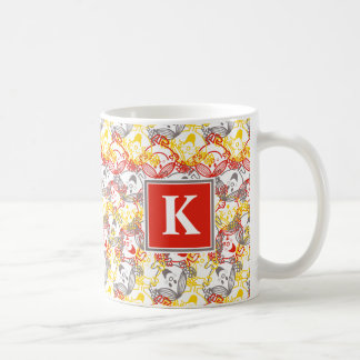 Todo sonríe monograma del modelo el | taza de café