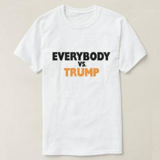 Todos contra la camiseta del triunfo