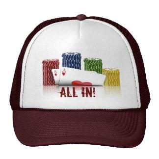 Todos en gorra