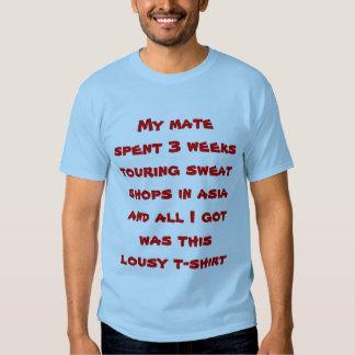 Todos lo que conseguí camisetas