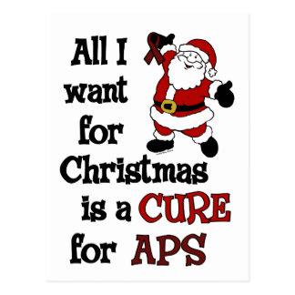Todos lo que quiero para el navidad… APS Postal