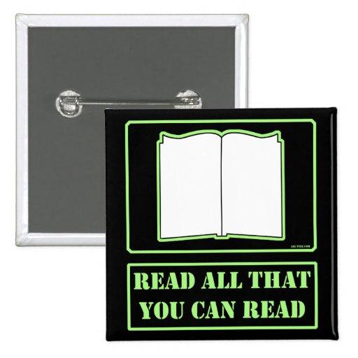 Todos lo que usted puede leer pins