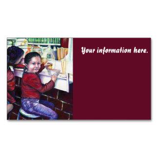 Todos los buenos chicas consiguen el helado tarjetas de visita magnéticas (paquete de 25)