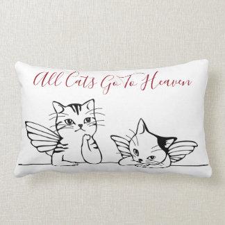 Todos los gatos van a la almohada del cielo para