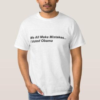 Todos los incurrimos en equivocaciones camiseta