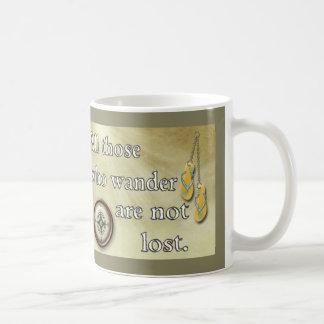 Todos que vagan -- taza de café
