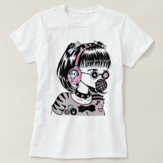 Tokio fashion girl burbuja camisetas