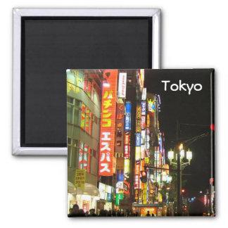 Tokio por noche imán