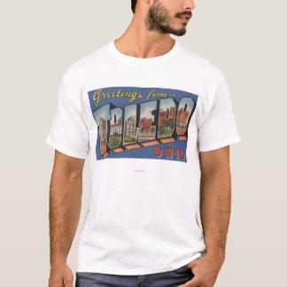 Toledo, letra ScenesToledo, OH de OhioLarge Camiseta