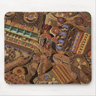 TOLTEC QUE TALLA la cultura antigua Mousepad Tapetes De Ratón