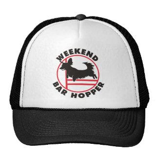 Tolva de la barra del fin de semana de la agilidad gorro de camionero