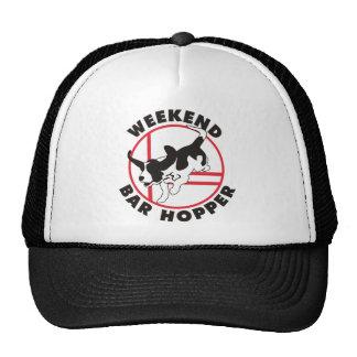Tolva de la barra del fin de semana de la agilidad gorras de camionero