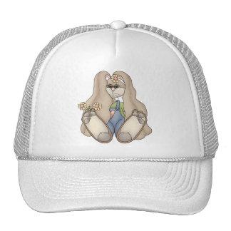 Tolvas de la abrazo • Chica de conejito Gorras De Camionero