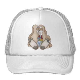 Tolvas de la abrazo • Muchacho del conejito Gorros Bordados