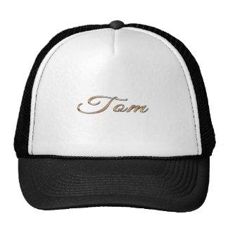 Tom personalizó el regalo de encargo calificado gorra