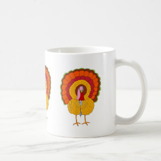 Tom Turquía pintado en la taza del café/del té