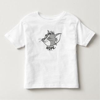 Tom y Jerry el | Tom dice Nope Camiseta De Bebé