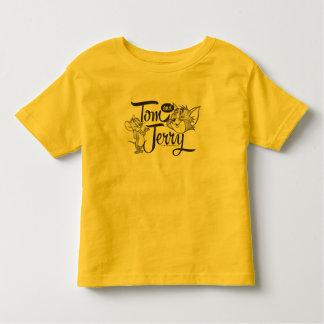Tom y Jerry el | Tom y Jerry que parece dulce Camiseta De Bebé