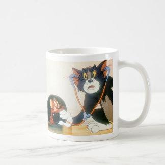 Tom y Jerry Stethescope Tazas De Café