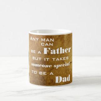 Toma alguien especial para ser una taza del papá
