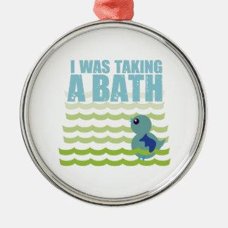 Tomaba un baño ornato