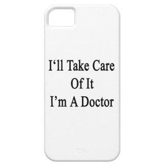 Tomaré el cuidado de él que soy doctor iPhone 5 fundas