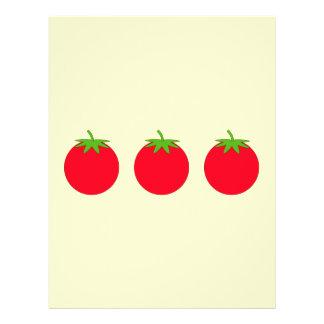 Tomate rojo folleto 21,6 x 28 cm
