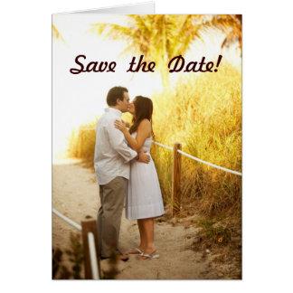 Tome 2 - ¡Ahorre la fecha! Tarjeta De Felicitación