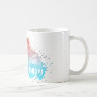 Tome a ocasiones la taza de café artística