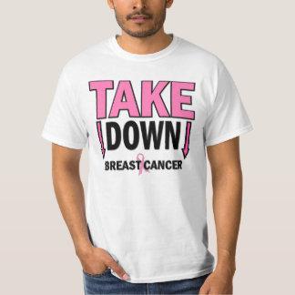 TOME ABAJO al cáncer de pecho Camiseta