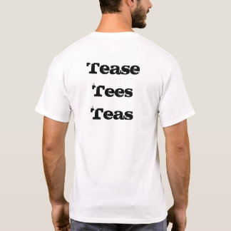 Tome el pelo los tés de las camisetas