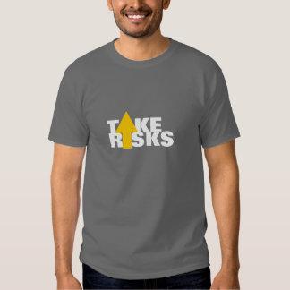 Tome los riesgos camiseta