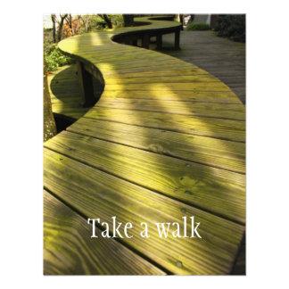 Tome un paseo invitacion personal