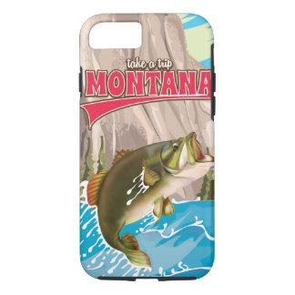 Tome un viaje - poster del viaje de Montana del Funda iPhone 7