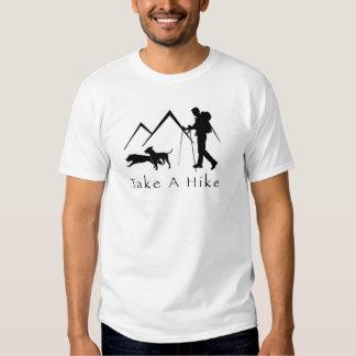 Tome una Camisa-Pitbull del alza Camisetas