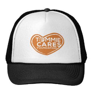 Tommie cuida el gorra del camionero - negro con el