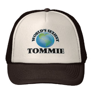 Tommie más atractivo del mundo gorras de camionero