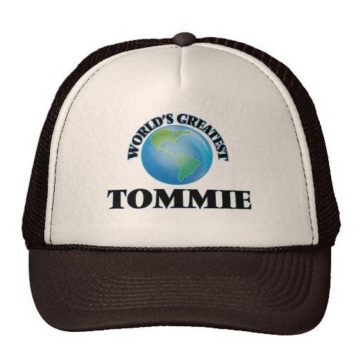 Tommie más grande del mundo gorros bordados