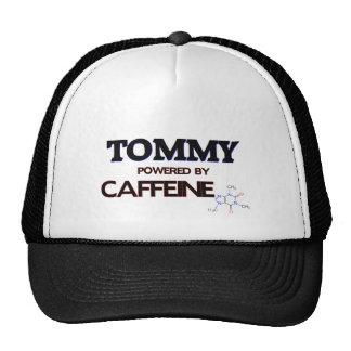 Tommy accionó por el cafeína gorras