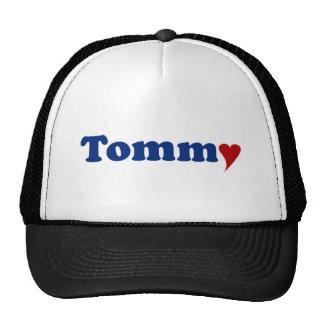 Tommy con el corazón gorros bordados