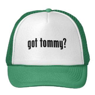 ¿tommy conseguido? gorra