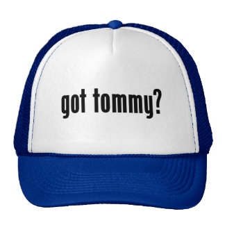 ¿tommy conseguido? gorros