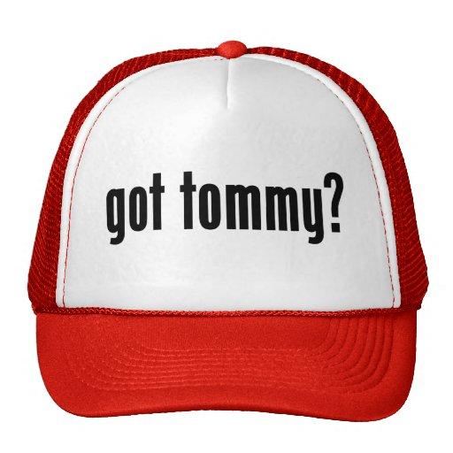 ¿tommy conseguido? gorro