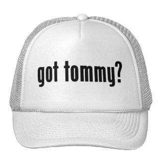 ¿tommy conseguido? gorras