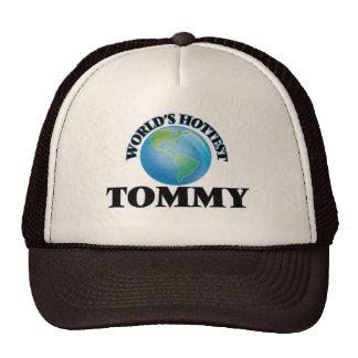 Tommy más caliente del mundo gorras